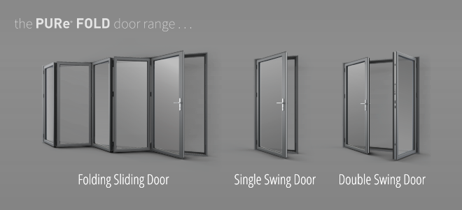 The PURe Fold Door Ranges